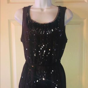 Simply Vera Sequined Dress Size Small